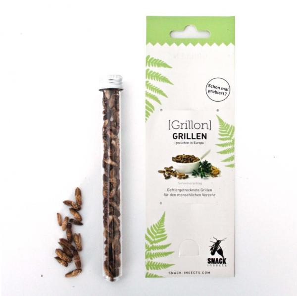 Grillen - Grillon-Snack