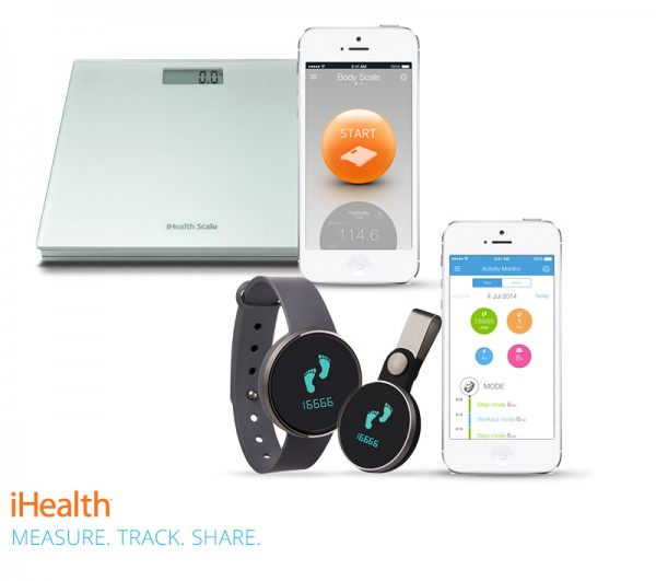 iHealth Duo Fitness BMI Scale (HS3) + Activity Meter (AM3s)