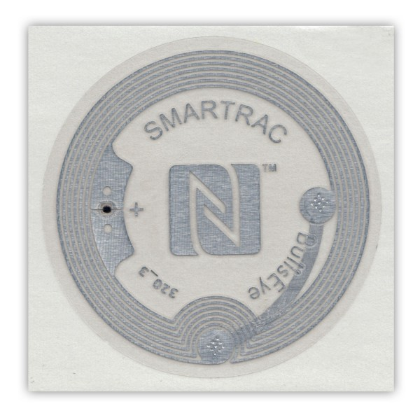 NFC Sticker NTAG216 BullsEye Ø38mm 888 Byte