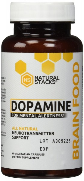 Natural Stacks Dopamin Brain Food