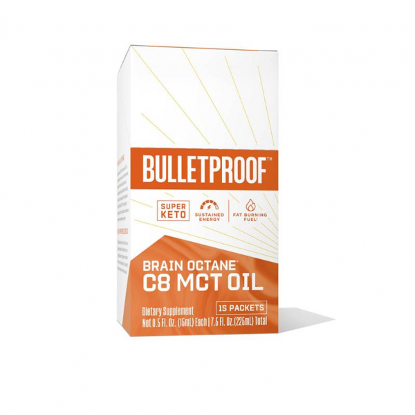 Bulletproof Brain Octane C8 MCT Öl - PACKETS