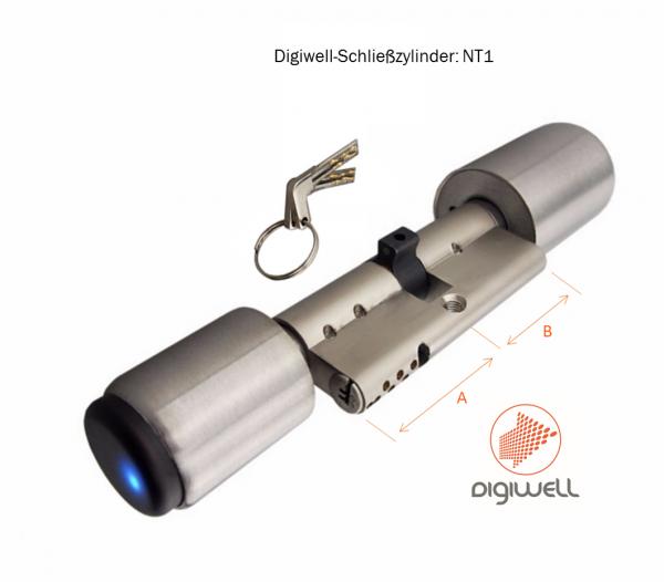 Digiwell Implantat-Schließzylinder NT1 - 13,56MHz
