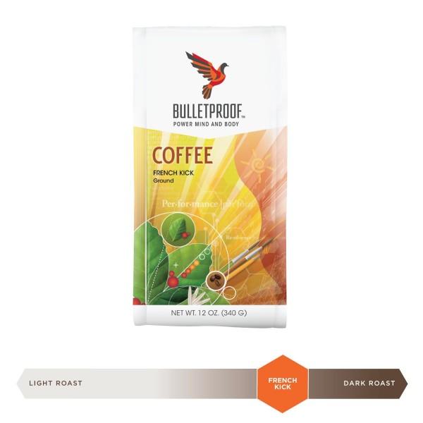Bulletproof 'French Kick' dunkel-gerösteter gemahlener Kaffee