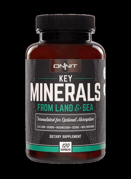 Onnit Key Minerals - Mineralien in Bestform