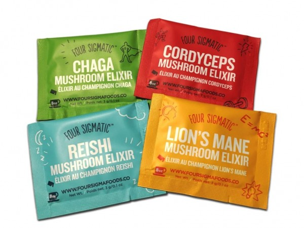 Four Sigmatic Probierpack Mushrooms Elixiere (4 Stck.)