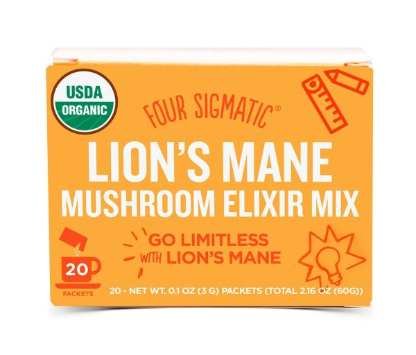 Four Sigmatic Lion's Mane Mushroom Elixir - Brain Power