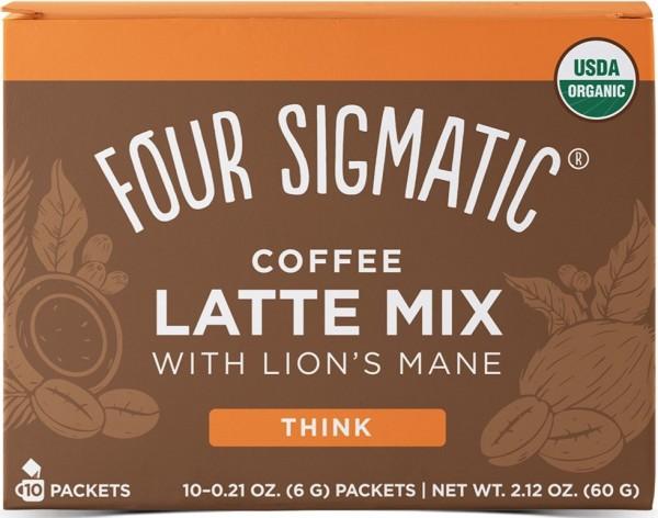 Mushroom Coffee Latte mit Lion's Mane