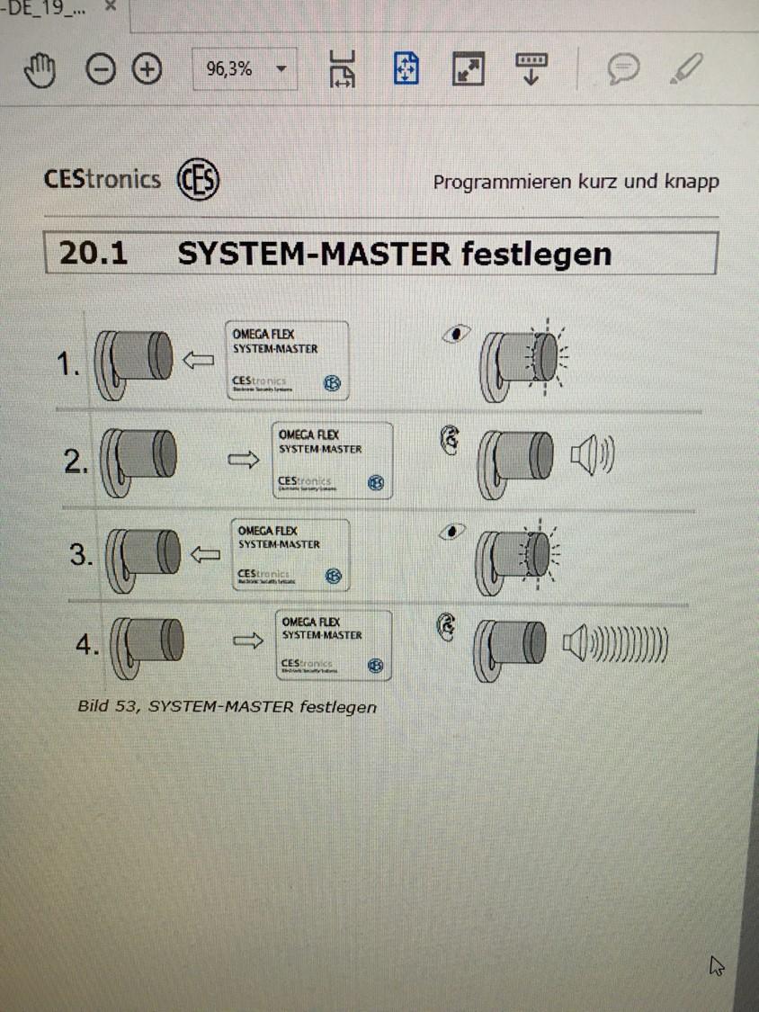 System-Master-festlegen