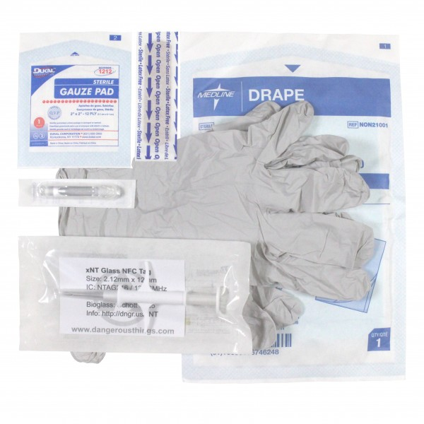 Dangerous Things xNT-Implantat - Comfort Kit