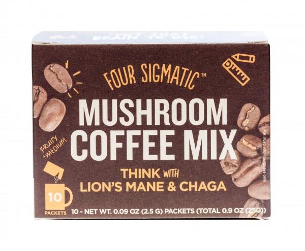 Four Sigmatic Mushroom Coffee mit Lion's Mane & Chaga