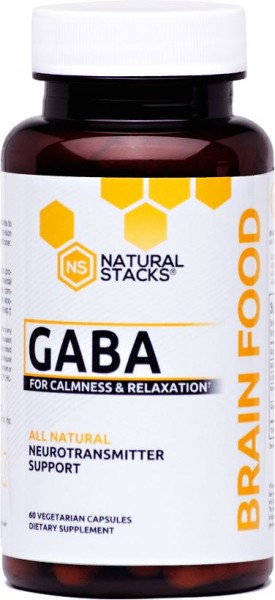 Natural Stacks Gaba Brain Food