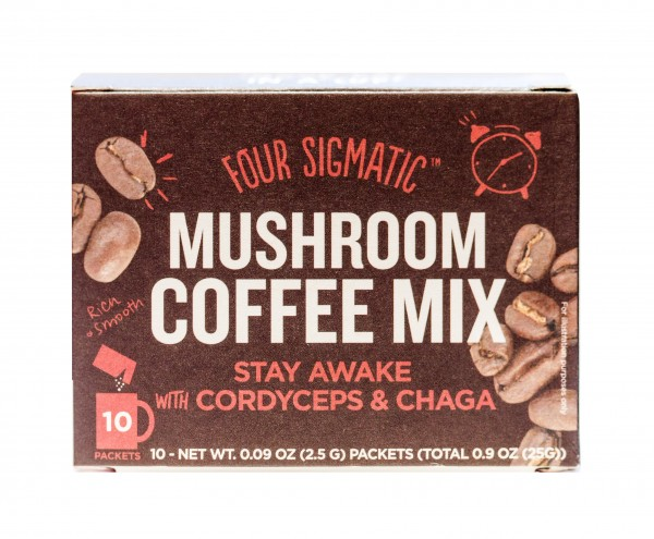 Four Sigmatic Mushroom Coffee mit Cordyceps & Chaga