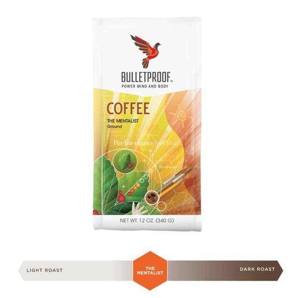 Bulletproof 'The Mentalist' dunkel gerösteter gemahlener Kaffee