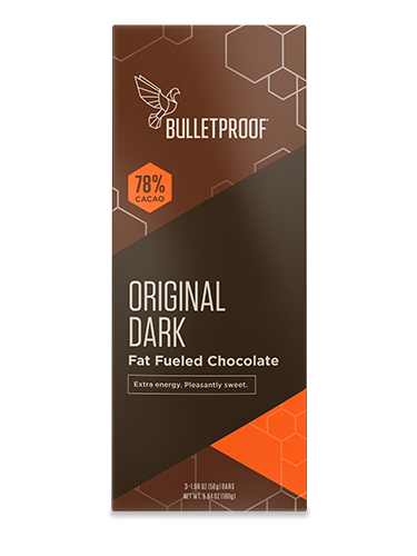 Bulletproof Chocolate Fuel Bars - Original Pack (3er Pack)